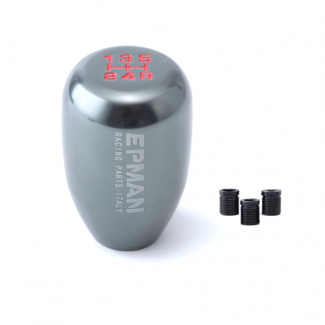 Aluminiowa gałka zmiany biegów 5B Uniwersalna Titanium - GRUBYGARAGE - Sklep Tuningowy
